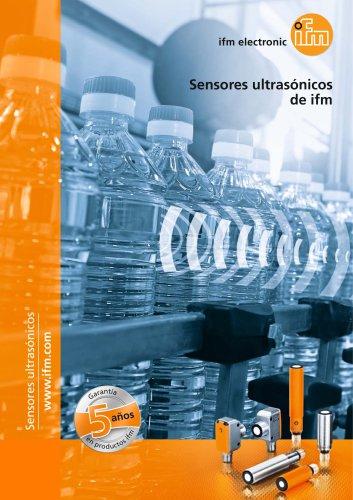 Sensores ultrasónicos de ifm