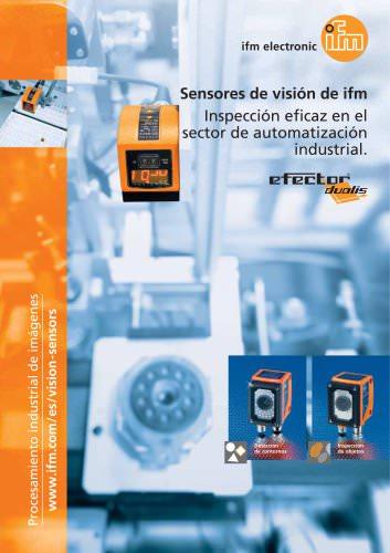 Sensores de visión de ifm. Inspección eficaz en el sector de automatización industrial.