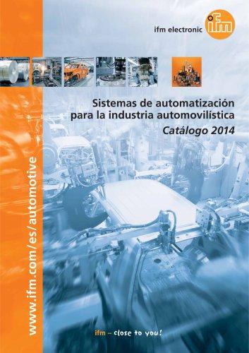 Sistemas de automatización para la industria automovilística
