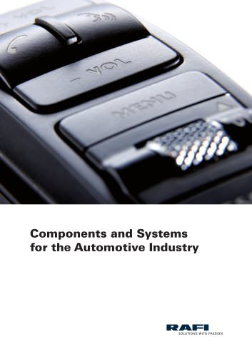 Components and Systems for the Automotive Industry
