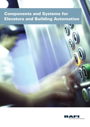 Components and Systems for the Elevator and Building Automation