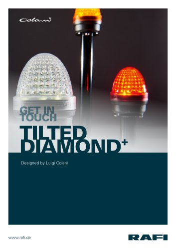 machine lamp Tilted Diamond+ – designed by Colani