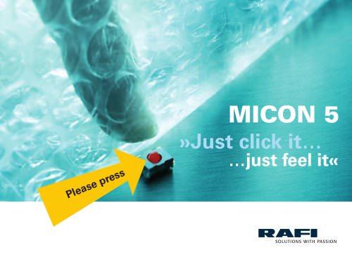 MICON 5 Short-Travel Keyswitches