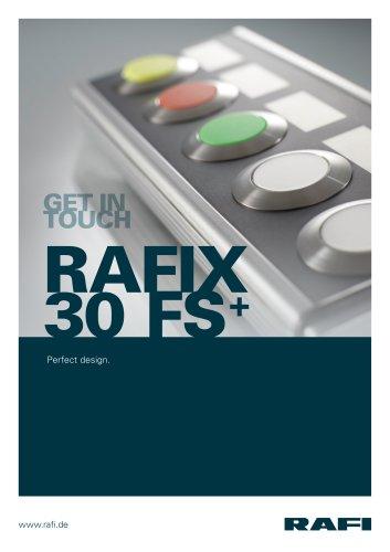 RAFIX 30 FS + control components, perfect design