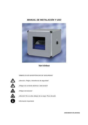 Unidades de Ventilación - Vari-Airbox