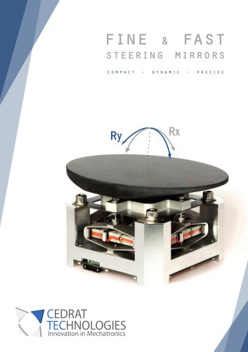 Fine and fast steering mirrors