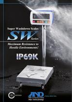 Super Washdown Scales/SW Series