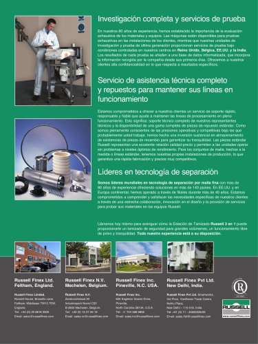 Russell Compact 3in1 Sieve Spanish