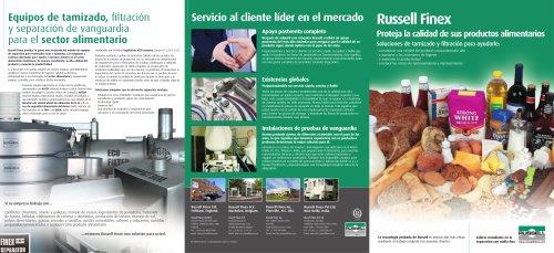 Spanish Food Brochure