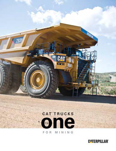 Cat® Trucks: The ONE for Mining