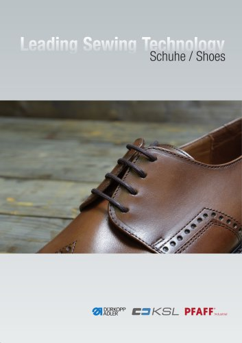 "Segment Brochures ""Shoes"""