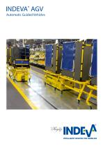 INDEVA® AGV automatic guided vehicles
