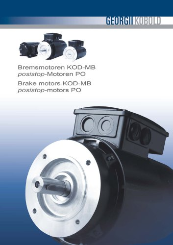 Brake Motors KOD-MB