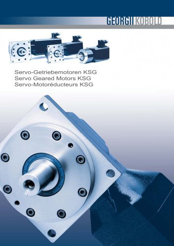 Servo Geared Motors KSG