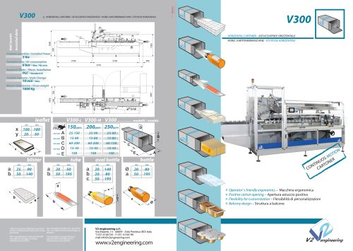 V300 Continuous Motion Horizontal Cartoner