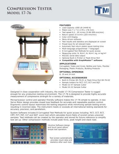 17-76 Compression Tester