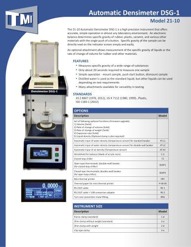 21-10 Automatic Densimeter DSG-1