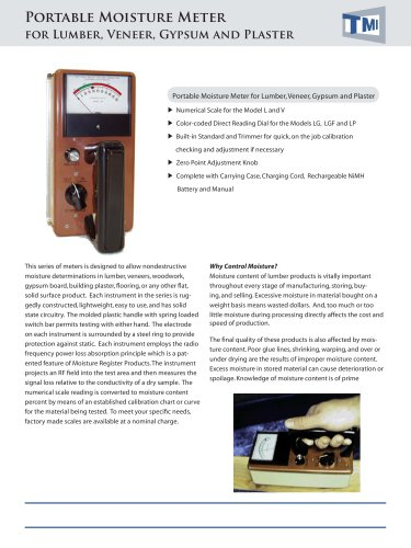 52-48 Portable Moisture Meter
