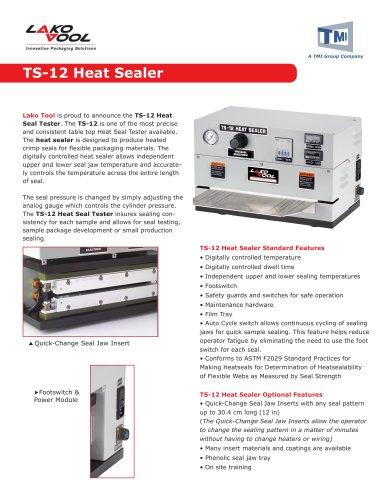 TS-12 Heat Sealer