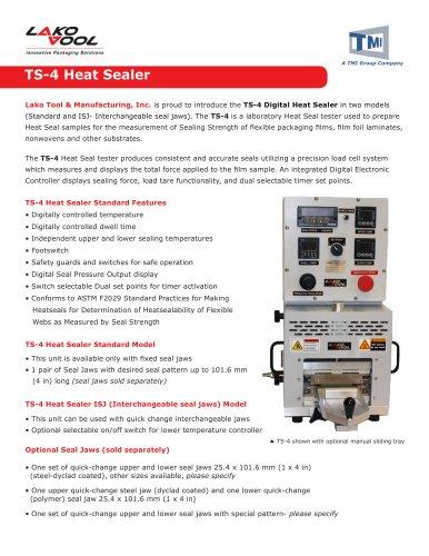 TS-4 Heat Sealer