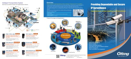 Providing Dependable and Secure IP Surveillance