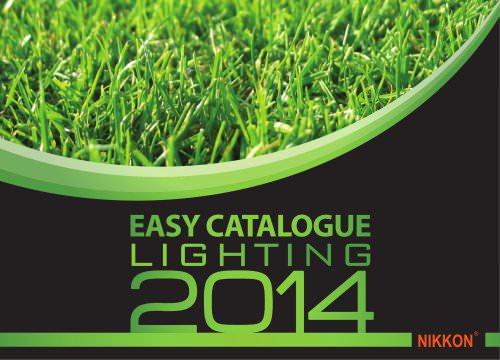 Easy Catalogue - NIKKON Lighting 2014