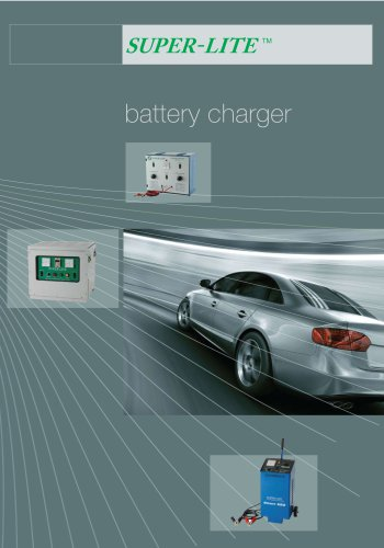 SUPER-LITE Battery Charger