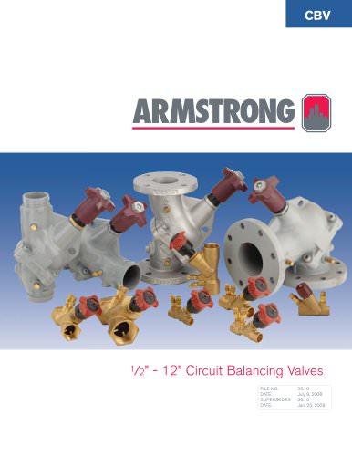 Circuit Balancing Valves