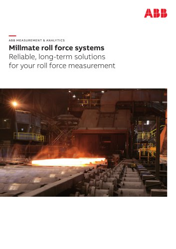 Millmate roll force systems