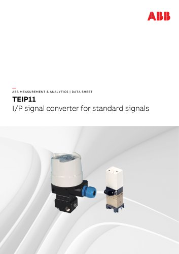 TEIP11 I/P signal converter for standard signals