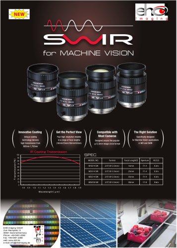 """EHD 2/3"""" SWIR Lenses"""