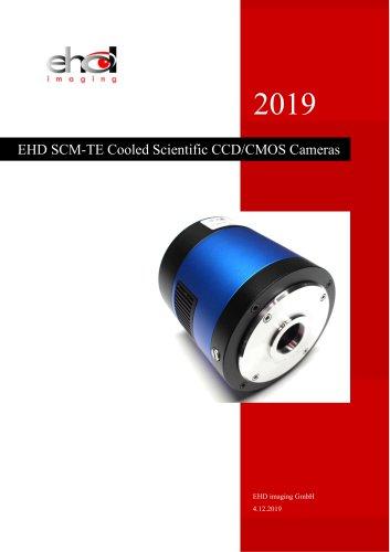 EHD SCM-TE Cooled Scientific CCD/CMOS Cameras 2019