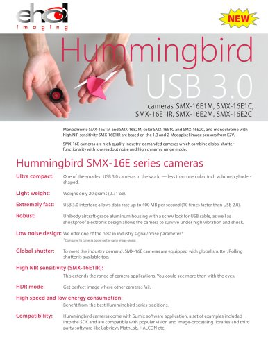 Hummingbird USB 3.0