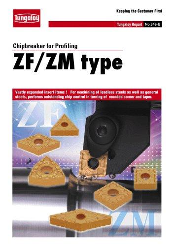 Chipbreaker for Profiling   ZF/ZM type