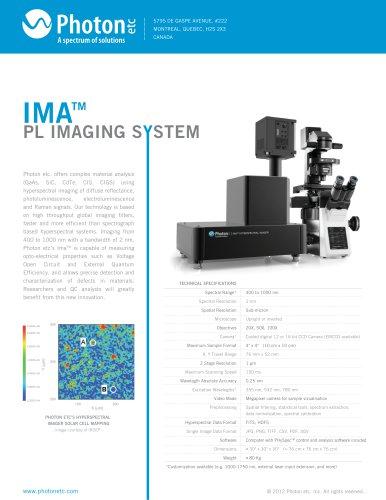 IMA™ - Global Hyperspectral Microscope