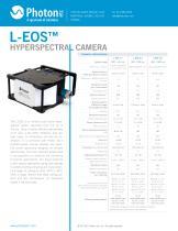 L-EOS™ - Push Broom Hyperspectral Scanner