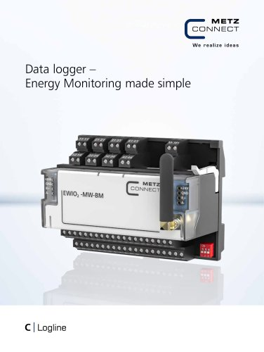 C|Logline - Data logger – Energy Monitoring made simple