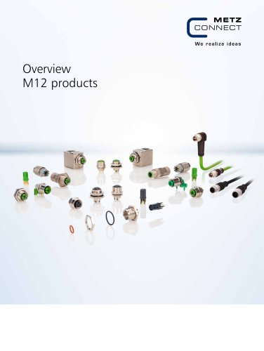 P|Cabling - Overview M12 products