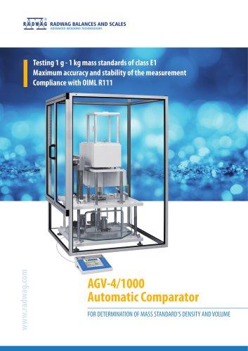 AGV-4/1000 Automatic Comparator