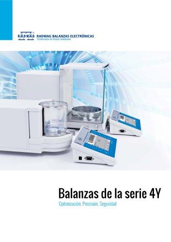 Balanzas de la serie 4Y