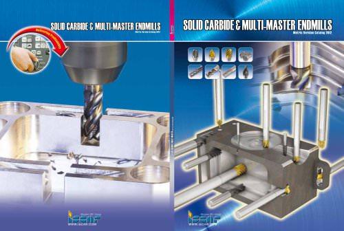 Solid Carbide & MULTI-MASTER Endmills