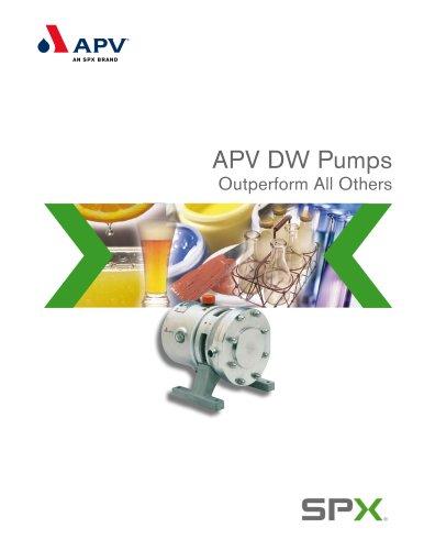 APV DW Rotary Lobe Pump