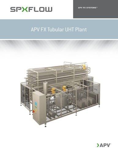APV FX Tubular UHT Plant