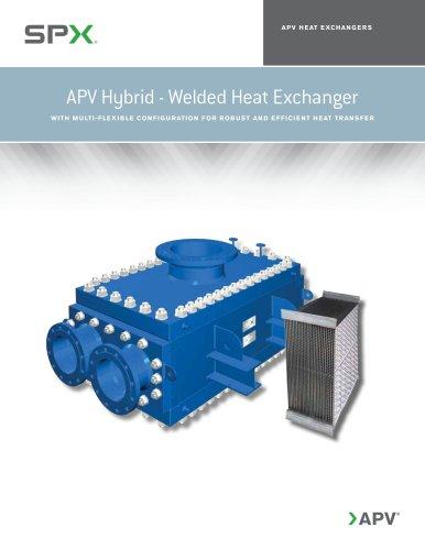 APV Hybrid Welded Plate Heat Exchanger