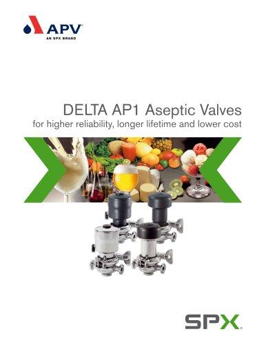 DELTA AP1 - Aseptic valves