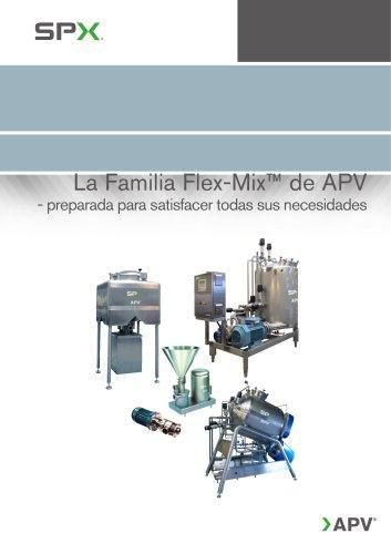 La Familia Flex-Mix™ de APV
