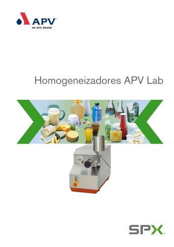 Homogeneizadores APV Lab