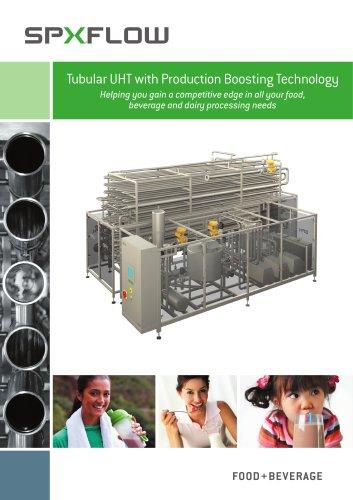 Tubular UHT with Production Boosting Technology