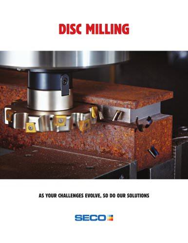 Disc Milling brochure