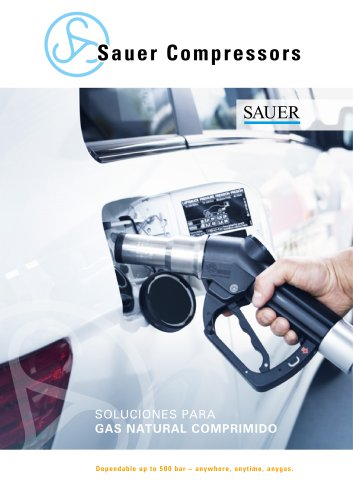 Sauer soluciones para gas natural comprimido